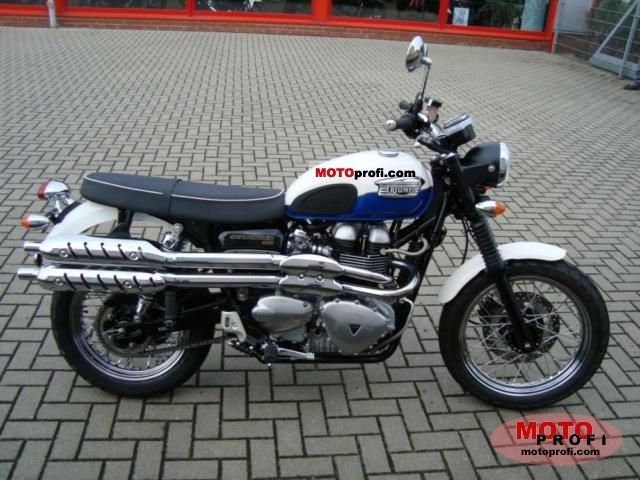 Triumph Scrambler 2006 photo