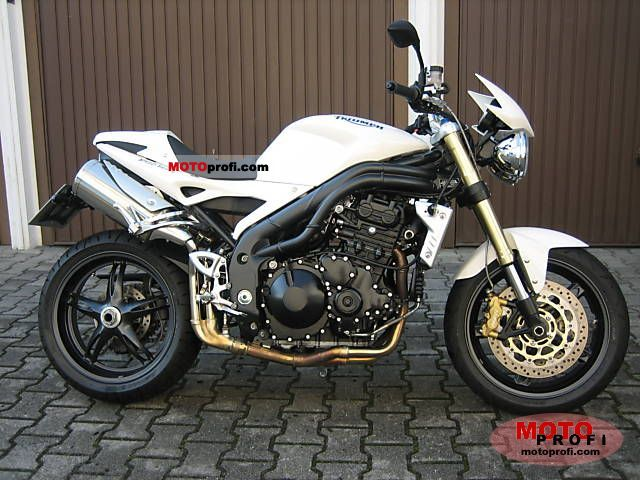 triumph speed triple 2006 specs and photos. Black Bedroom Furniture Sets. Home Design Ideas