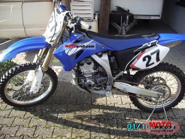 Yamaha YZ 250 F 2006 photo