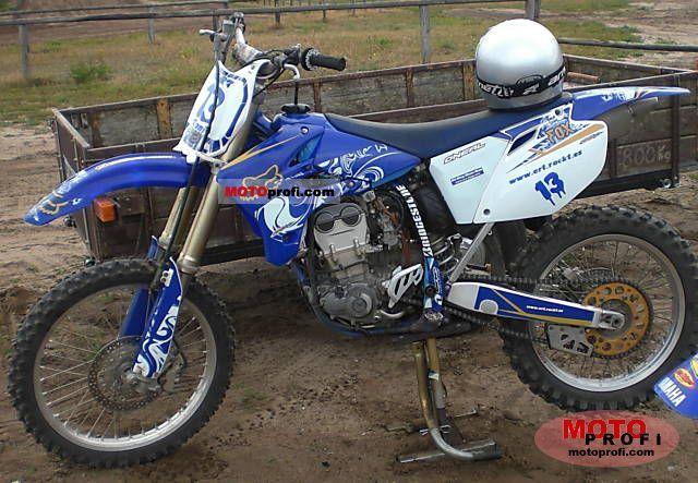 Yamaha YZ 450 F 2006 photo