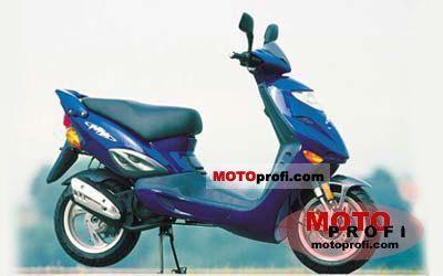 Adly Thunder bike 50 2007 photo