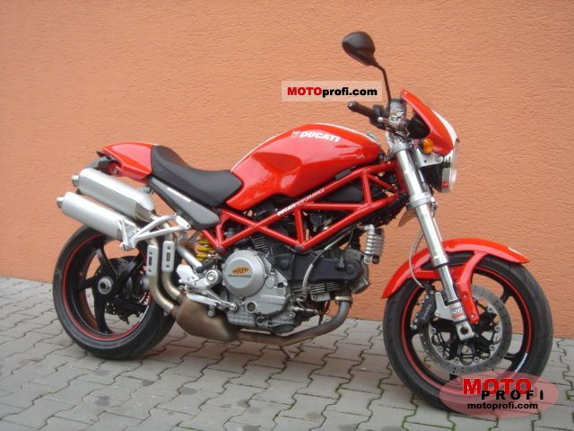 Ducati Monster S2R 1000 2007 Specs and Photos