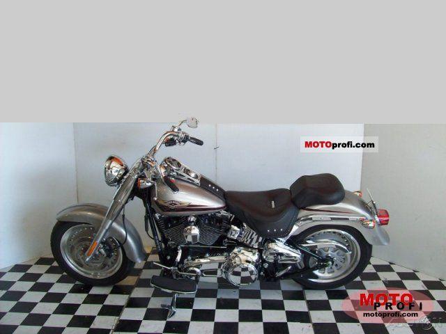 Harley-Davidson FLSTF  Softail Fat Boy 2007 photo