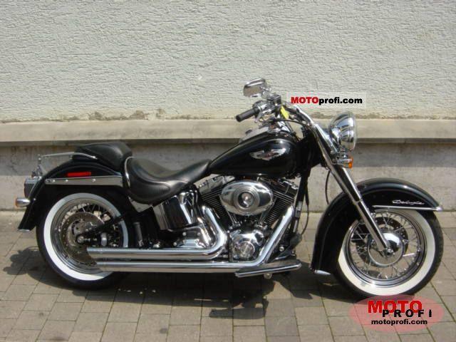 Harley-Davidson FLSTN  Softail Deluxe 2007 photo