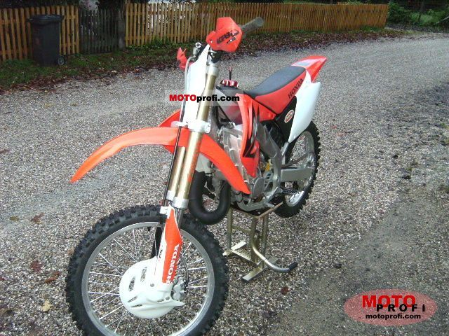 Honda Cr 125 R 2007 Specs And Photos