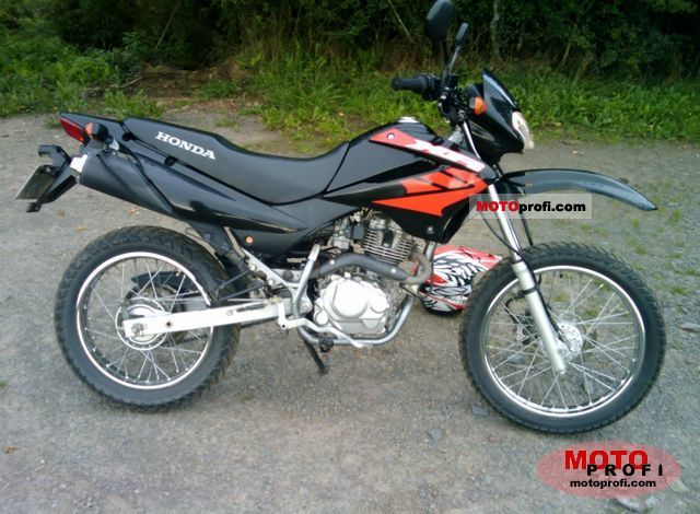 honda xr 125 2007 specs and photos. Black Bedroom Furniture Sets. Home Design Ideas