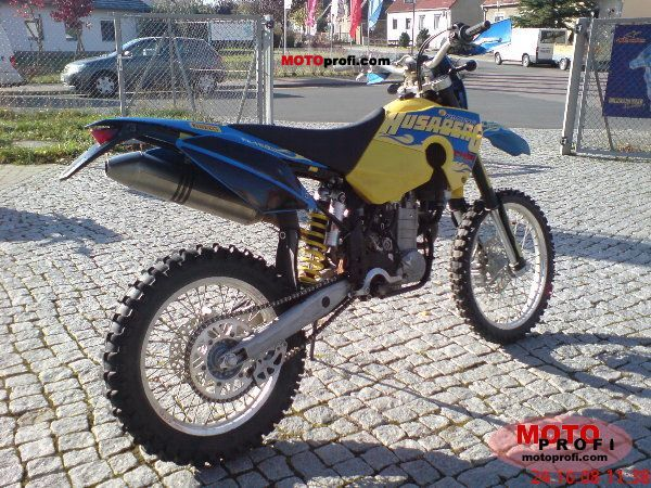 husaberg fe 450 e 2007 specs and photos. Black Bedroom Furniture Sets. Home Design Ideas