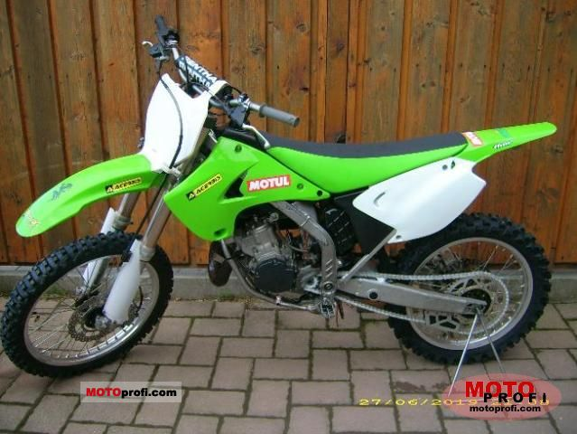 Excellent Kawasaki Kx 125 2007 Specs And Photos Pabps2019 Chair Design Images Pabps2019Com