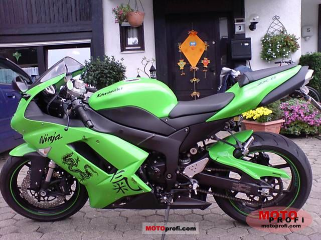 Kawasaki Zx 6r Ninja 2007 Specs And Photos