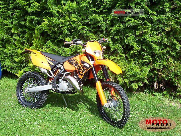 KTM 125 EXC 2007 photo