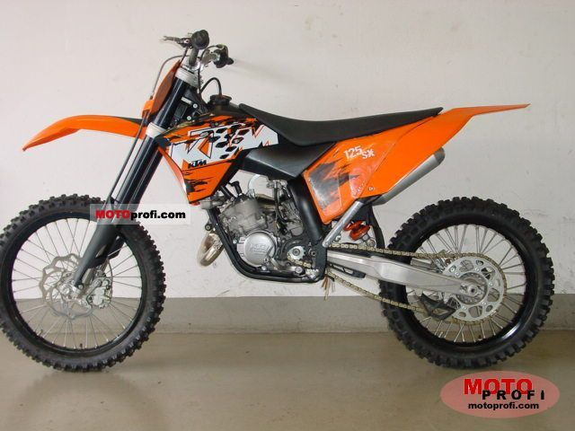 KTM 125 EXC 2007 Category: Enduro (124ccm)