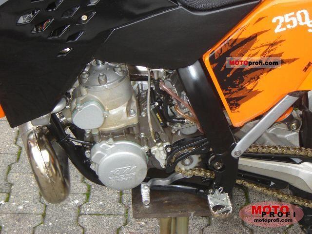 KTM Motorcycles: KTM 250 SX Top Speed Motorycle