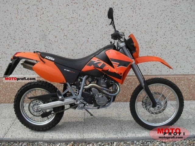 KTM 640 LC4 Enduro 2007 photo