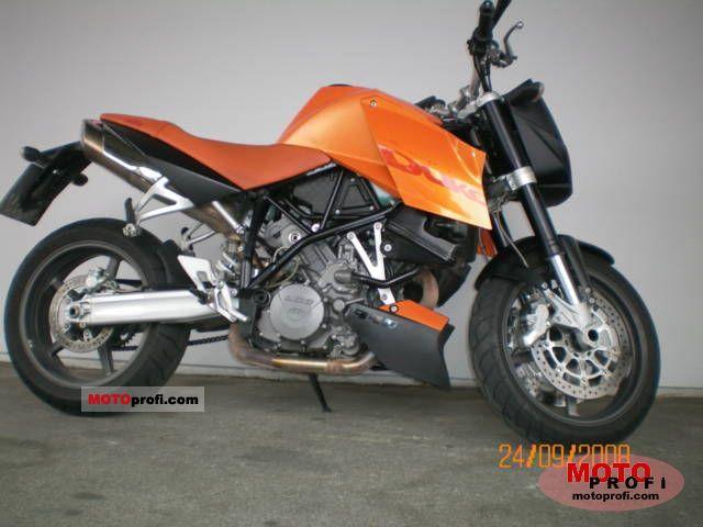 ktm 990 super duke 2007 specs and photos