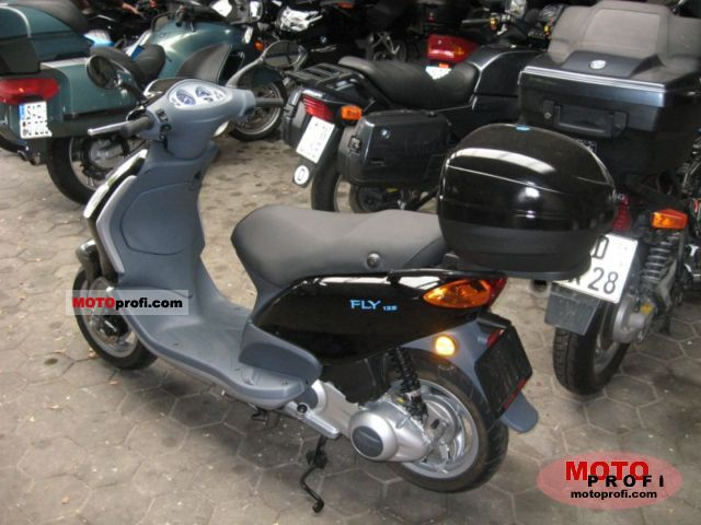 piaggio fly 125 2007 specs and photos