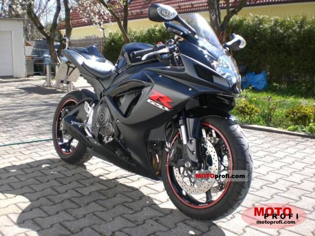 Suzuki Gsx R 750 2007 Specs And Photos