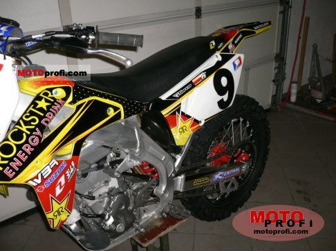 Suzuki RM-Z 450 2007 Specs and Photos
