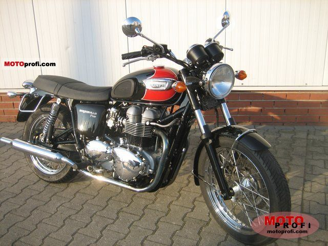Triumph Bonneville T100 2007 Specs And Photos