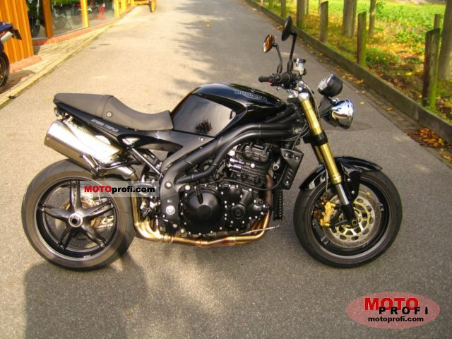 Triumph Speed Triple 2007 Specs and Photos
