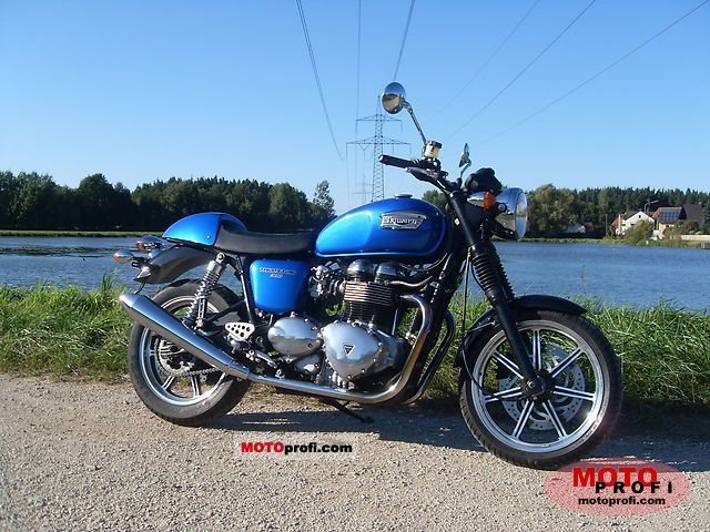Triumph Thruxton 2007 photo
