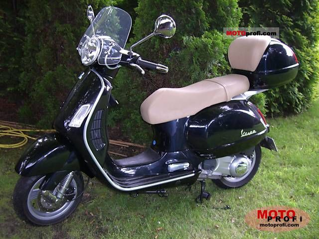 vespa gts 125 2007 specs and photos. Black Bedroom Furniture Sets. Home Design Ideas