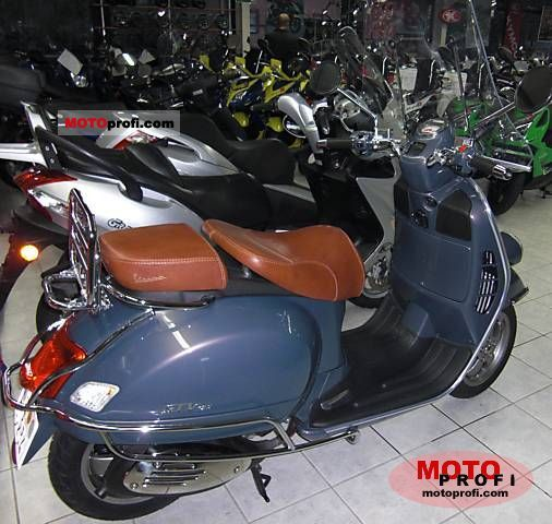 Top Vespa GTV 125 2007 Specs and Photos KG61