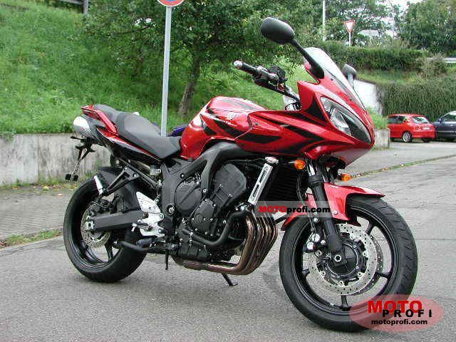 yamaha fz6 fazer s2 abs 2007 specs and photos. Black Bedroom Furniture Sets. Home Design Ideas