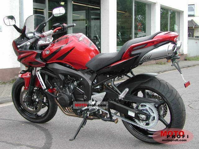 Yamaha Fz6 Fazer S2 Abs 2007 Specs And Photos