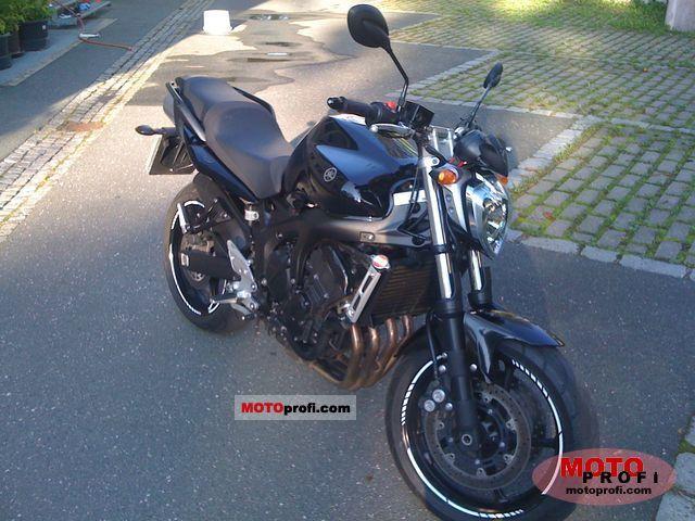 Yamaha Fz6 S2 2007 Specs And Photos