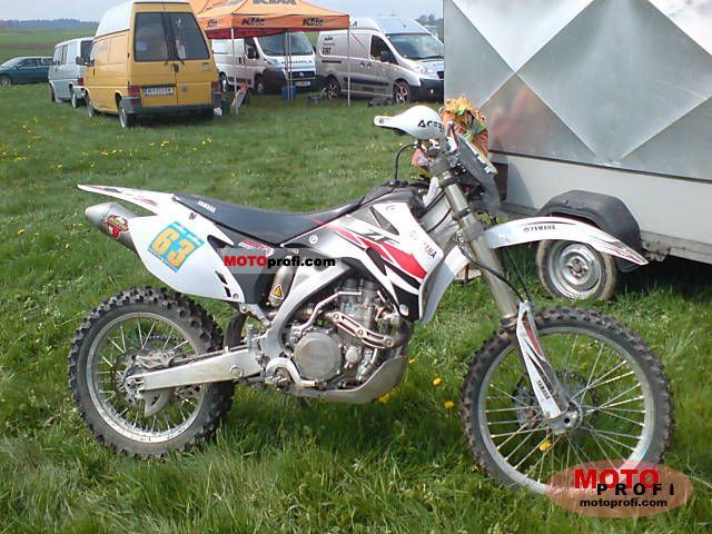 Yamaha WR 450 F 2007 photo