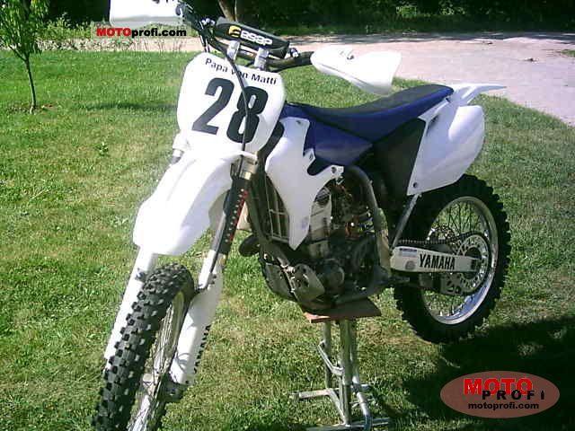 Yamaha YZ 450 F 2007 photo