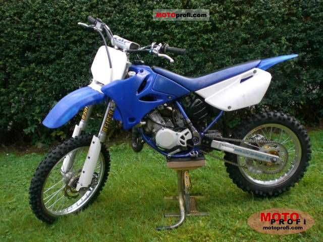 Yamaha Yz 85 Lw 2007 Specs And Photos