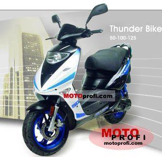 Adly Thunder Bike 50 2008 photo