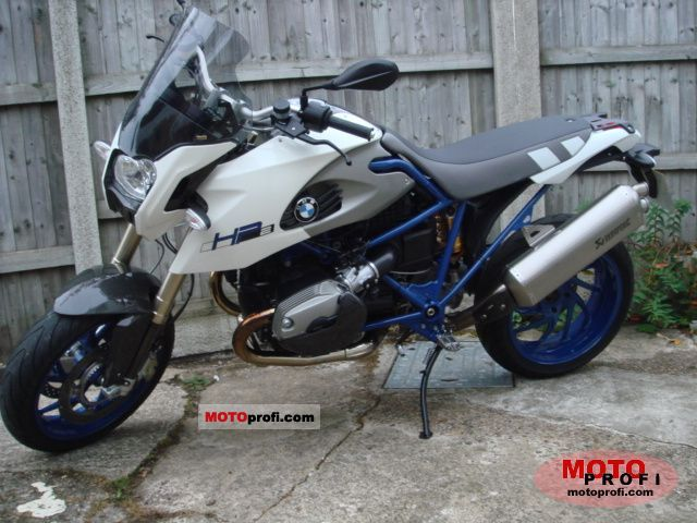 BMW HP2 Megamoto 2008 photo