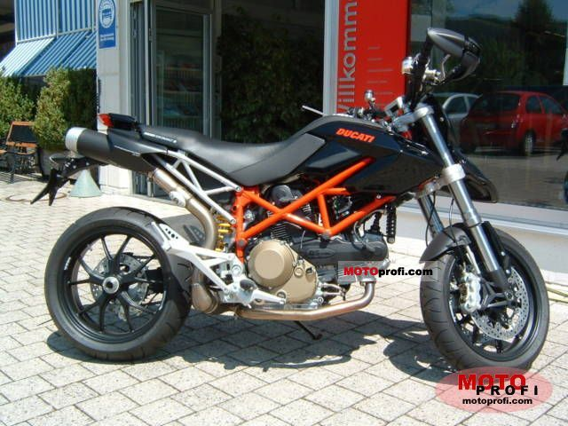 ducati hypermotard 1100 2008 specs and photos