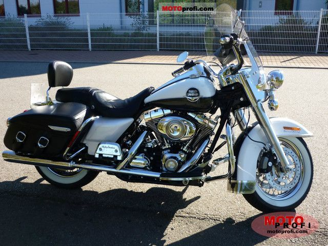 Harley Davidson Flhrc Road King Classic 2008 Specs And Photos