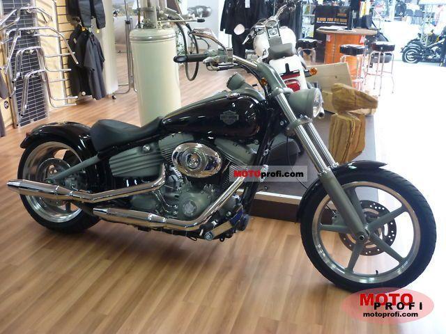Harley-Davidson FXCW Softail Rocker 2008 photo