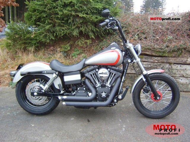 Harley-Davidson FXDB Dyna Street Bob 2008 photo