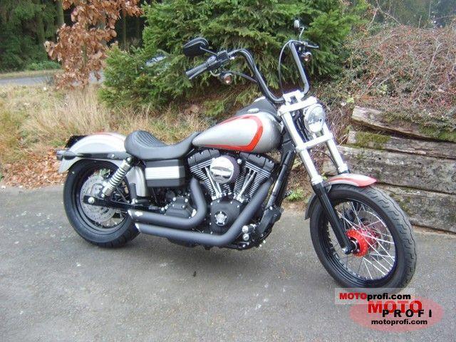 Harley-Davidson FXDB Dyna Street Bob 2008 photo 2
