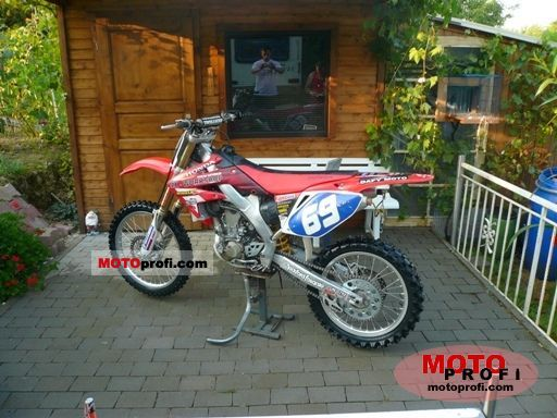 Honda CRF 250 R 2008 Specs and Photos