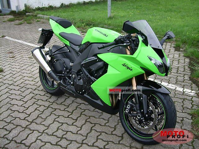 Kawasaki Ninja Zx 10 R 2008 Specs And Photos