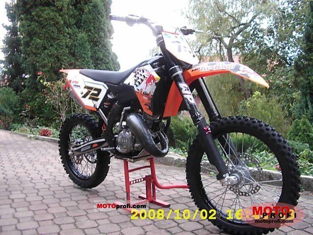 Ktm 125 Sx 07. KTM 125 SX 2008 Specs and