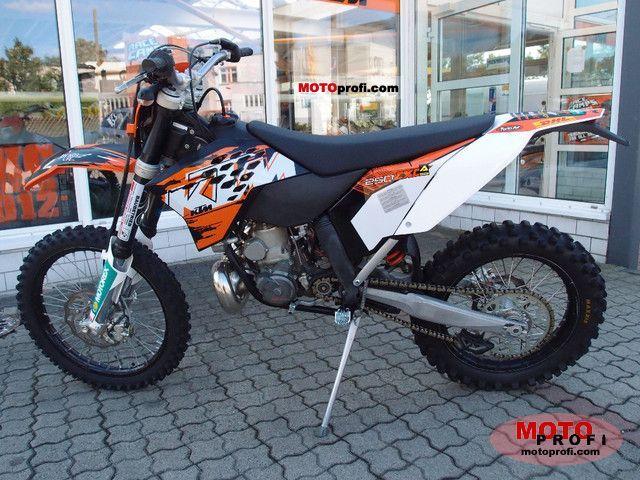 KTM 250 EXC 2008 photo