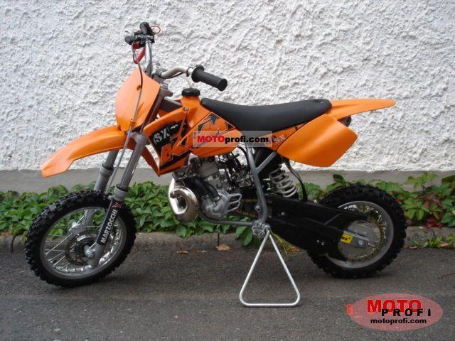 KTM 50 SX 2008 photo