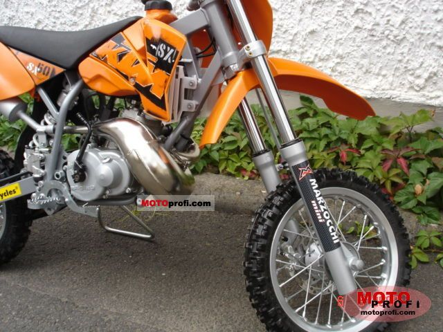 KTM 50 SX 2008 Specs and Photos