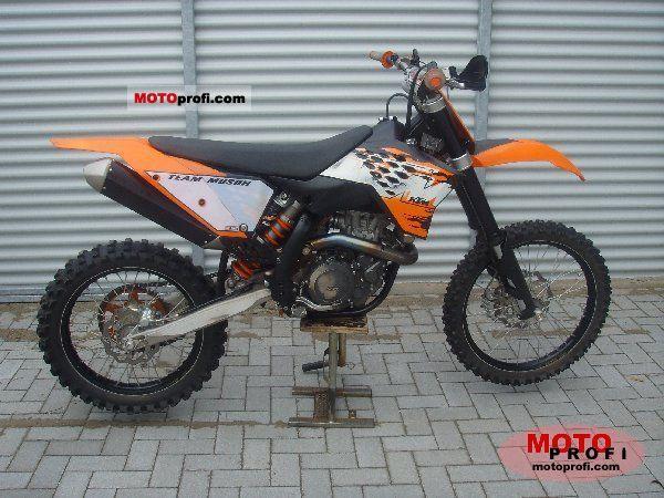 KTM 505 SX-F 2008 photo