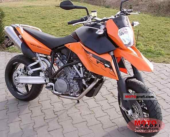 KTM 990 Supermoto 2008 photo