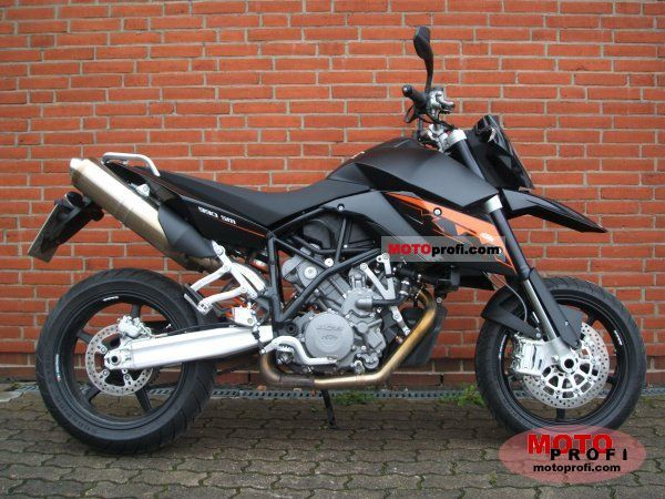 ktm 990 supermoto 2008 specs and photos