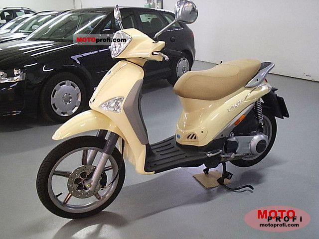 piaggio liberty 125 2008 specs and photos