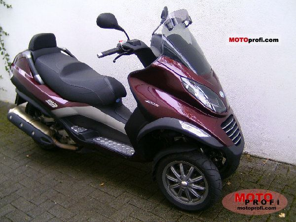piaggio mp3 400 2008 specs and photos